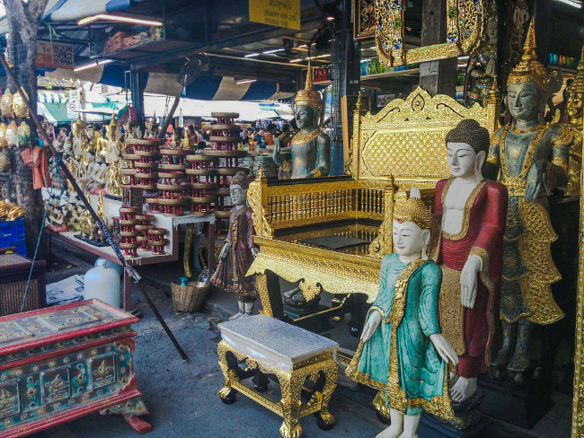 Chatuchak weekend Market bangkok